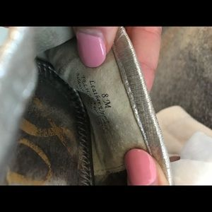 Sam Edelman Shoes - Sam Edelman pewter flats size 8